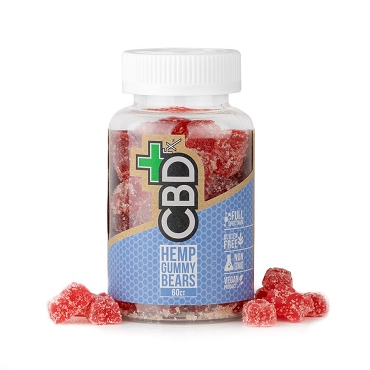 CBDfx - Gummy Bears  60 gummies 300mg (5mg each)