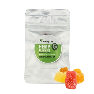 Tasty Hemp -  Gummies (4ct / 25mg ea)