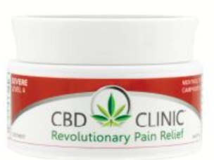 CBD CLINIC™ Pain Relief Professional Series Level 4 - Deep Muscle and Joint Pain Relief