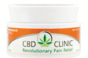 CBD CLINIC™ Pain Relief Professional Series Level 3 - Moderate Muscle Joint Pain Relief