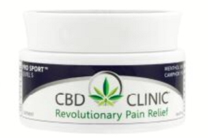 CBD CLINIC™ Pain Relief Professional Series Level 5 - Pro Sport Deep Muscle and Joint Pain Relief