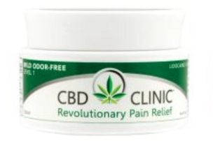 CBD CLINIC™ Pain Relief Professional Series Level 1- Mild Pain Relief 25mg