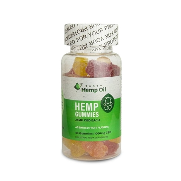 Tasty Hemp - Gummies (40ct / 25mg ea)