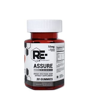 Relive Everyday RE-ASSURE Gummies - Watermelon
