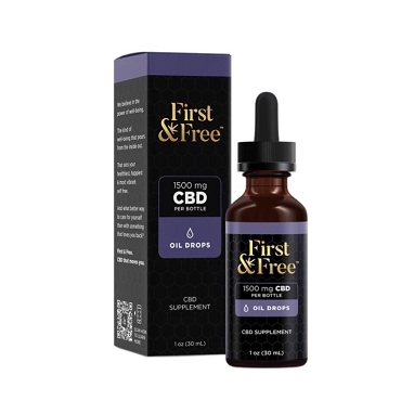 First & Free Extra Strength CBD Oil Drops