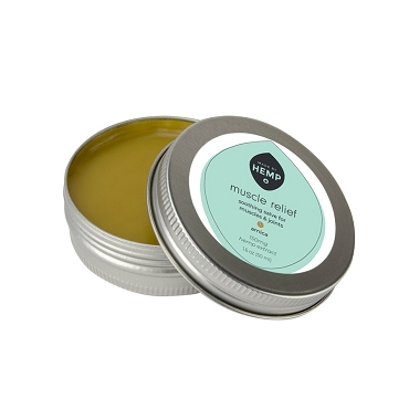 Made by Hemp Muscles Relief CBD Balm 150mg and 500mg