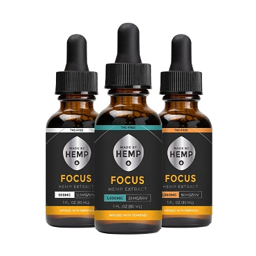 Made By Hemp for Focus Hemp Extract