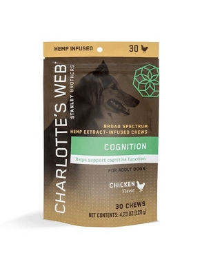 Charlotte's Web Hemp Extract Chews for Senior Dogs