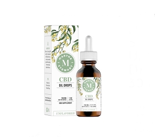 Martha Stewart CBD Unflavored Oil Drops 750mg 30ml