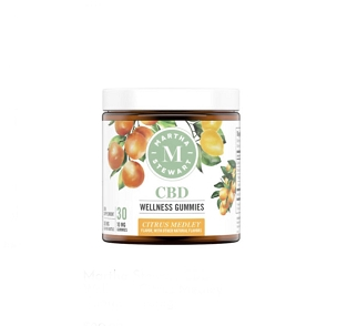 Martha Stewart CBD Wellness Citrus Medley Gummies 10mg
