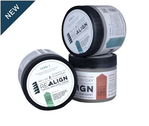 Re-Align Topical Analgesic Creams 200mg  also comes in 400 and 600mg