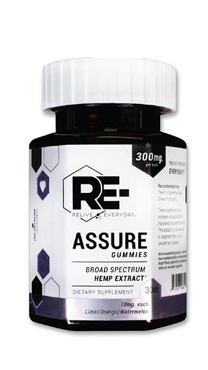 Relive Everyday RE-ASSURE Gummies - 30 Ct