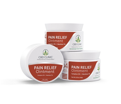 CBD CLINIC™ Professional Series Level 4 - Deep Muscle and Joint Pain Relief