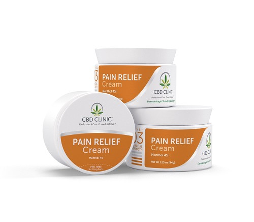 CBD CLINIC™ Professional Series Level 3 - Moderate Pain Relief