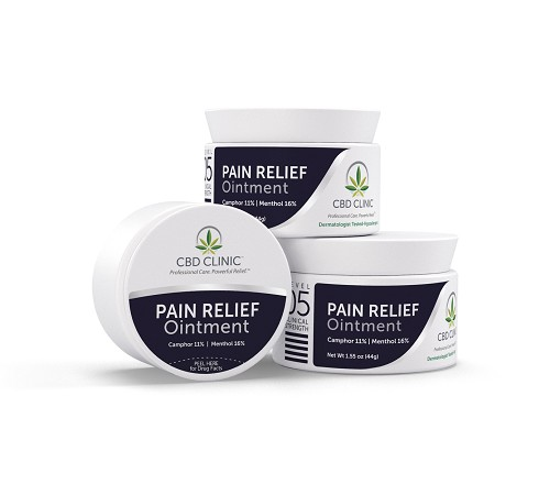 CBD CLINIC™ Clinical Strenght Level 5 Deep Muscle and Joint Pain Relief