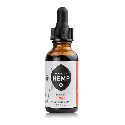 Made By Hemp  CBD Oil for Dogs 1oz (comes in 200 and 500mg)