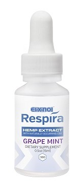 Respira Hemp Oil 300mg – Grape Mint Flavor CBD Oil